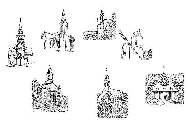 Schwesterkirchen Hosterwitz, Loschwitz, Bühlau, Weißer Hirsch und Schönfeld-Weißig
