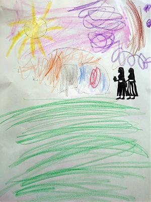 Zeichnung von Ella