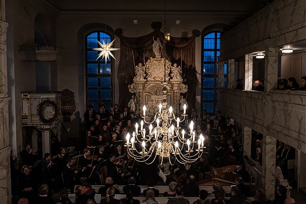Weihnachtsoratorium in der Weinbergkirche, 8.12.2019